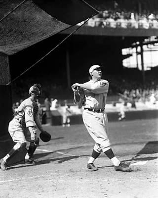 Philadelphia Phillies Stadium Photograph - John C. Jack Schulte by Retro Images Archive