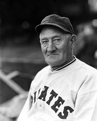 Pirates Photograph - John P. Honus Wagner by Retro Images Archive