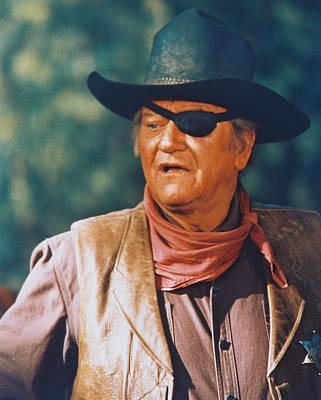 Cult Photograph - John Wayne In True Grit  by Silver Screen