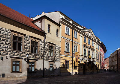 Krakow Photograph - Kanonicza Street And The Archdiocese by Panoramic Images