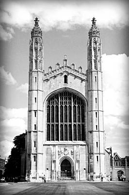King's College Chapel Print by Stephen Stookey