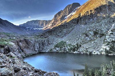 Willow Lake Photograph - Kit Carson Peak And Willow Lake by Aaron Spong