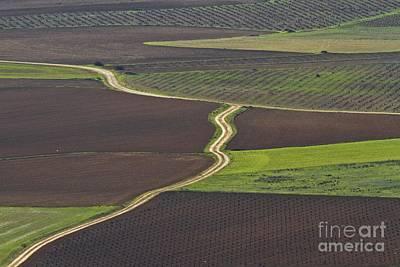 Landscape Photograph - La Mancha Landscape - Spain Series-seis by Heiko Koehrer-Wagner