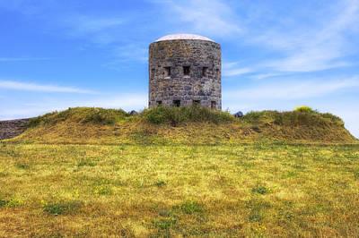 La Rousse Tower - Guernsey Print by Joana Kruse