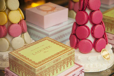 Tea Room Photograph - Laduree Sweets by Brian Jannsen