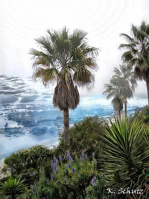 Laguna Beach Mixed Media - Laguna Beach by Kelly Schutz