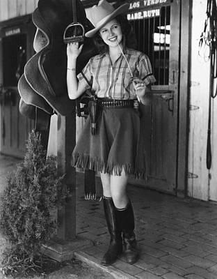 Lana Turner, 1937 Print by Everett