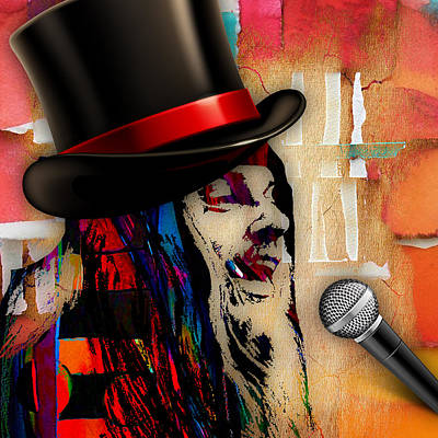 Musicians Mixed Media - Leon Russell Collection by Marvin Blaine