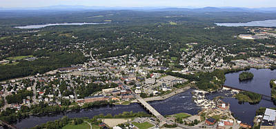 Lewiston, Maine Print by Dave Cleaveland