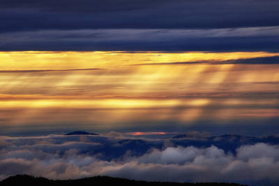 Twilight Views Photograph - Light From Above by Andrew Soundarajan