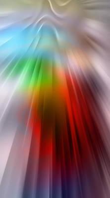 Impresionism Digital Art - Lightspeed by Steve K