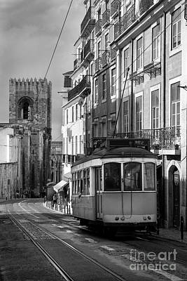 Lisbon Tram Print by Carlos Caetano