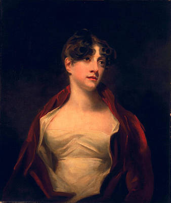Wistful Painting - Margaret Moncrieff by Sir Henry Raeburn