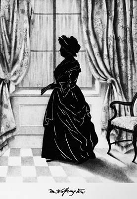 First-lady Drawing - Martha Washington (1731-1802) by Granger
