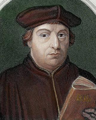 Bible Photograph - Martin Luther (eisleben, 1483 by Prisma Archivo