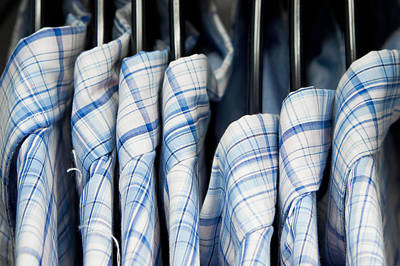 Clothes Clothing Photograph - Men's Shirts by Tom Gowanlock