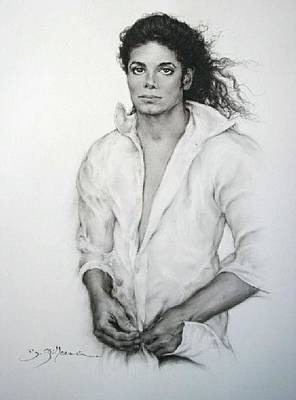 Michael Jackson Print by Guillaume Bruno