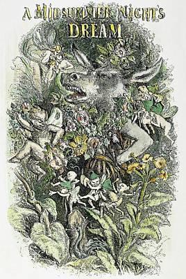 Midsummer Night's Dream Print by Granger