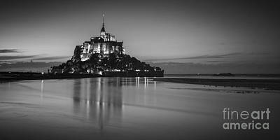 Mont-st-michel Normandy France Print by Colin and Linda McKie