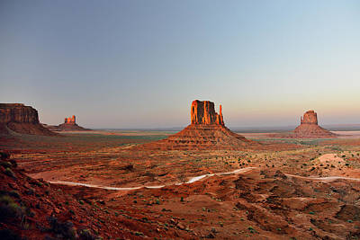 Left Photograph - Monument Valley by Christine Till