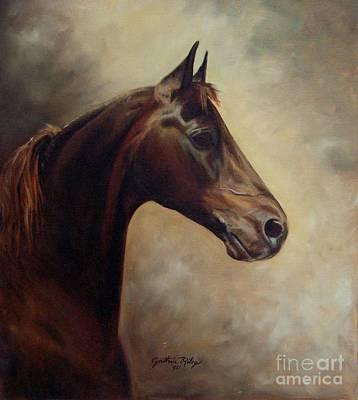 Morgan Horse Print by Cynthia Riley