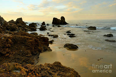 Ocean Photograph - Morning Beach by Timothy OLeary