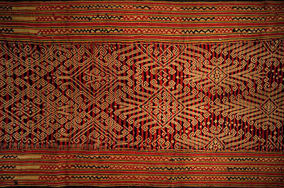 18th Century Photograph - Motif From Antique Asian Textile (pr by Jaina Mishra