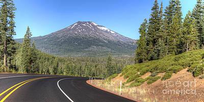 Oregon Photograph - Mount Bachelor by Twenty Two North Photography
