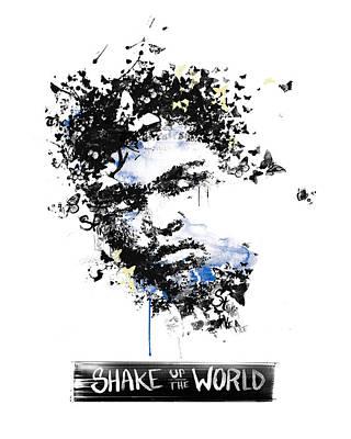 Muhammad Ali Drawings Painting - Muhammad Ali by Pop Culture Prophet