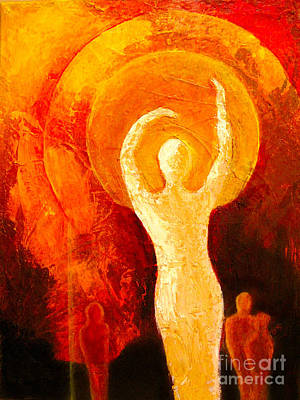 Abstract Painting - My Soul Is Dancing by Pat Stacy