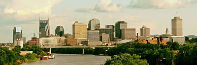 Downtown Nashville Photograph - Nashville Panorama by Pixabay