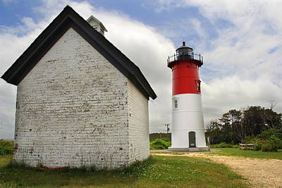 Nauset Lighthouse Print by Andrea Galiffi