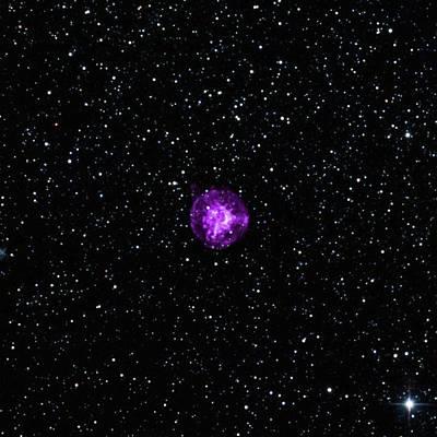 Forming Photograph - Nebula by Nasa