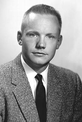 Neil Armstrong, Us Astronaut Print by Science Photo Library