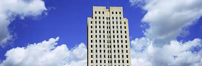 Bismarck Photograph - North Dakota State Capitol Building by Panoramic Images