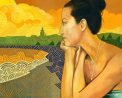 Nosara Sunset Original by Nathan Miller