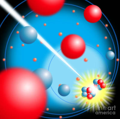 Fission Photograph - Nuclear Fission by David Nicholls