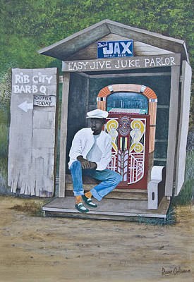 Jukebox Painting - O11 by Dave Coleman