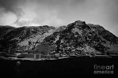 Oksfjord During Winter Norway Europe Print by Joe Fox