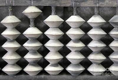 Abacus Photograph - Old Chinese Abacus by Yali Shi