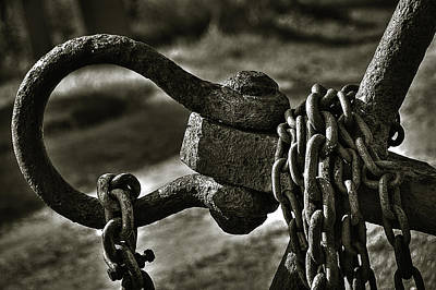 Linked Photograph - Old Rusty Anchor by Erik Brede