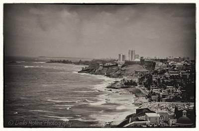 El Morro Photograph - Old San Juan by Dado Molina