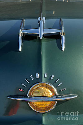 Macro Photograph - 1951 Oldsmobile 98 Deluxe Holiday Sedan by George Atsametakis