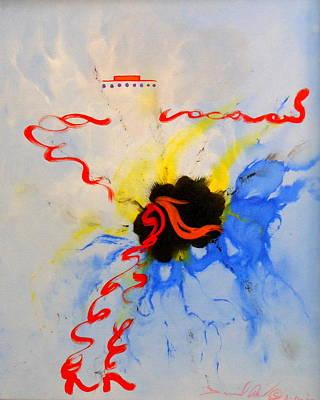 Ole Flamenco Print by David Mintz