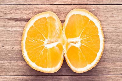 Tangy Photograph - Orange by Tom Gowanlock