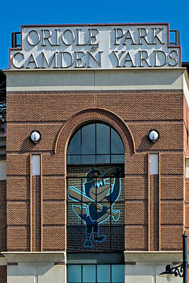 Sports Photograph - Oriole Park At Camden Yards by Susan Candelario