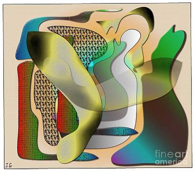 Patches Print by Iris Gelbart