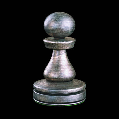 Pawn Photograph - Pawn Chess Piece by Ktsdesign