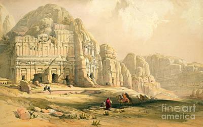 Petra Print by David Roberts
