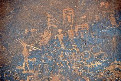Kokopelli Photograph - Petroglyphs by Bildagentur-online/mcphoto-schulz